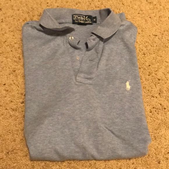 Polo collared shirt sleeve shirt